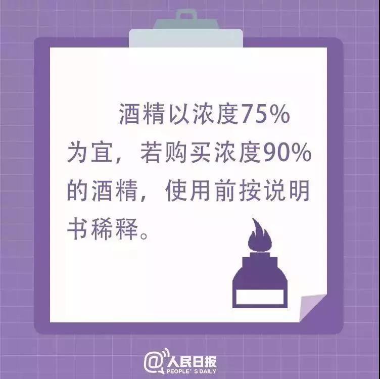 北京好中医提示:疫情期间用酒精消毒,这9句话很重要!转自人民日报